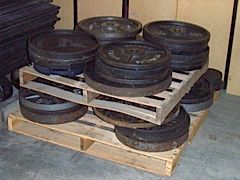 Second-hand plates