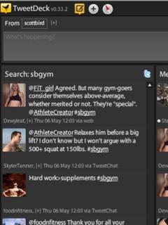 A Twitterchat on Tweetdeck